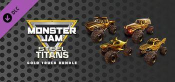 Monster Jam Steel Titans Gold Truck Bundle - PC