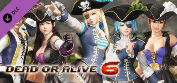 DOA6 Pirates of the 7 Seas Costumes Vol.2 Set - PC