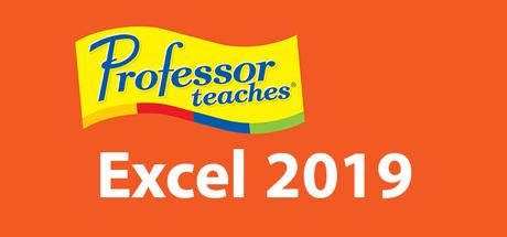 Professor Teaches Excel 2019 - PC