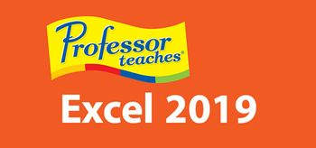 Professor Teaches Excel 2019 - PC