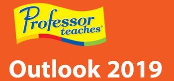Professor Teaches Outlook 2019 - PC