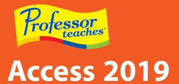Professor Teaches Access 2019 - PC