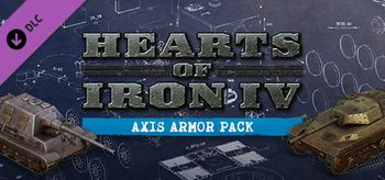 Hearts of Iron IV Axis Armor Pack - Linux