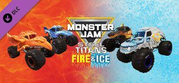 Monster Jam Steel Titans Fire & Ice Truck Bundle - PC