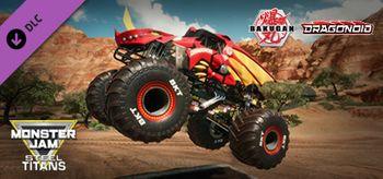 Monster Jam Steel Titans Bakugan Dragonoid Truck - PC