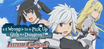 Is It Wrong to Try to Pick Up Girls in a Dungeon Infinite Combate - Mac