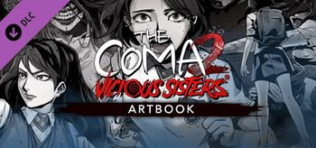 The Coma 2 Vicious Sisters DLC Artbook - PC
