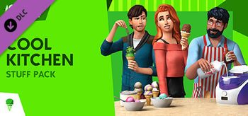 The Sims 4 Cool Kitchen Stuff - Linux