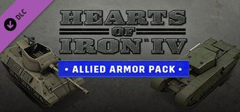 Hearts of Iron IV Allied Armor Pack - Linux