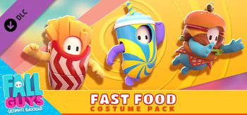 Fall Guys Fast Food Costume Pack - PC