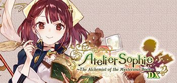 Atelier Sophie The Alchemist of the Mysterious Book DX - PS4