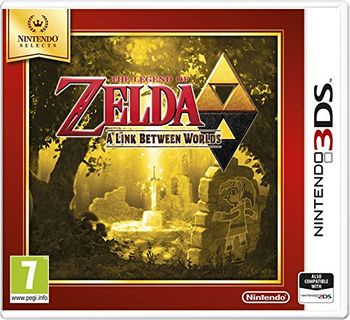 The Legend of Zelda A Link Between Worlds - 3DS