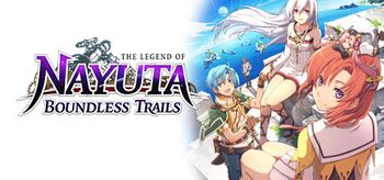 The Legend of Nayuta Boundless Trails - PS4
