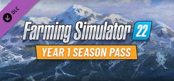 Farming Simulator 22 Year 1 Season Pass - XBOX ONE