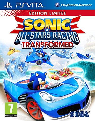 Sonic  All-Stars Racing Transformed - PSVITA