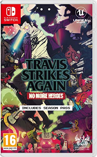 Travis Strikes Again No More Heroes - SWITCH