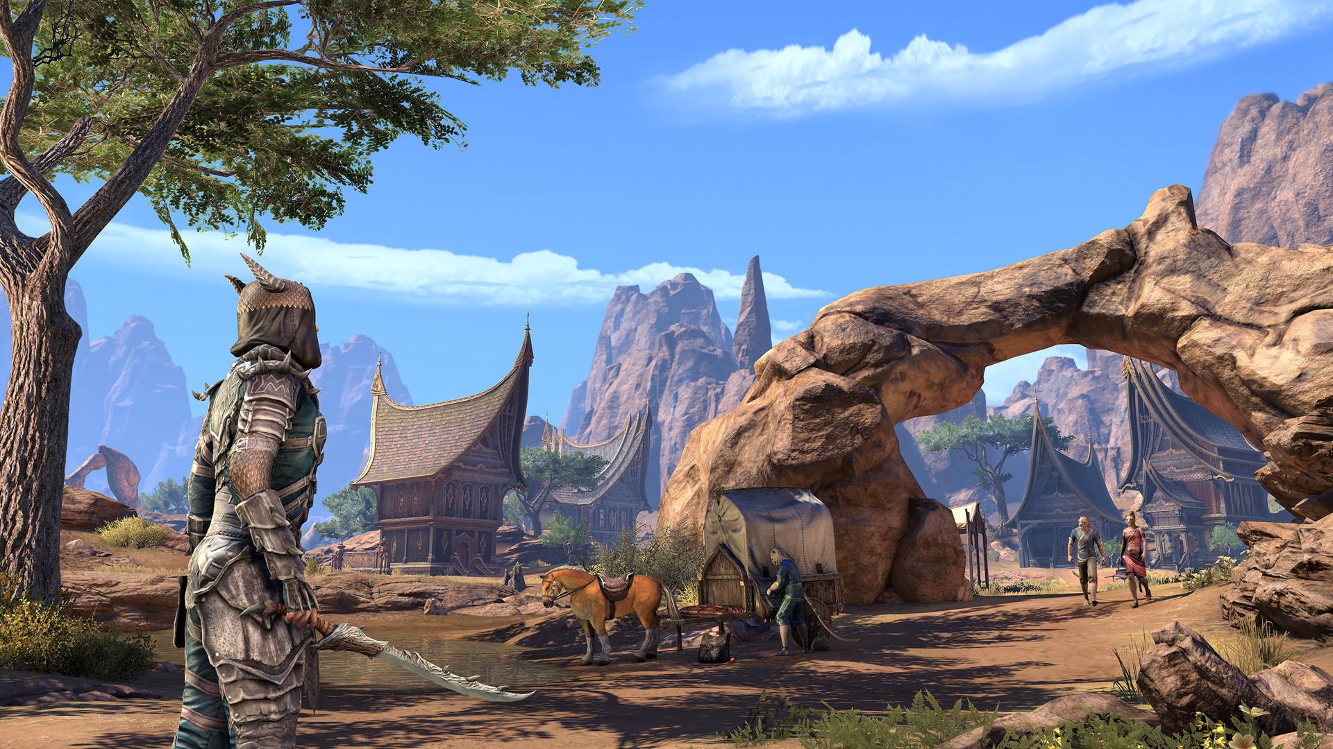 The Elder Scrolls Online Elsweyr - Linux