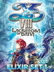 Ys VIII Lacrimosa of DANA - Elixir Set 1   - PC