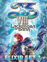 Ys VIII Lacrimosa of DANA - Elixir Set 3   - PC