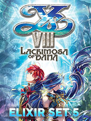 Ys VIII Lacrimosa of DANA - Elixir Set 5   - PC
