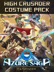 Azure Saga Pathfinder - High Crusader Costume Pack - PC