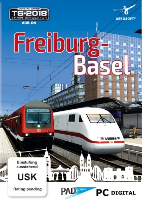 Train Simulator: Rhine Valley: Freiburg - Basel Route Add-On - PC