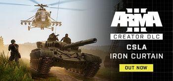 Arma 3 Creator DLC CSLA Iron Curtain - PC