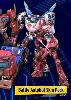 TRANSFORMERS BATTLEGROUNDS Battle Autobot Skin Pack - PC