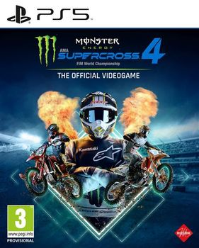 Monster Energy Supercross 4 The Official Video Game - PS5