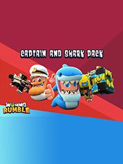 Worms Rumble Captain & Shark Double Pack - PC