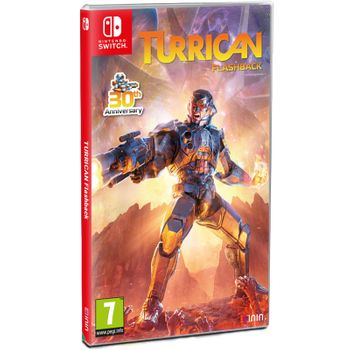 Turrican Flashback 30th Anniversary Edition - SWITCH