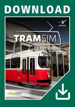 TramSim DLC Tram Depot Vienna - PC