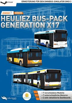 OMSI 2 Add On Heuliez Bus Pack Generation X17 - PC