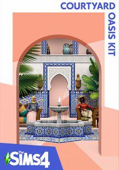 The Sims 4 Courtyard Oasis Kit - Mac