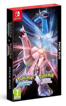 Pack Duo Pokémon Diamant Etincelant & Pokémon Perle Scintillante - SWITCH