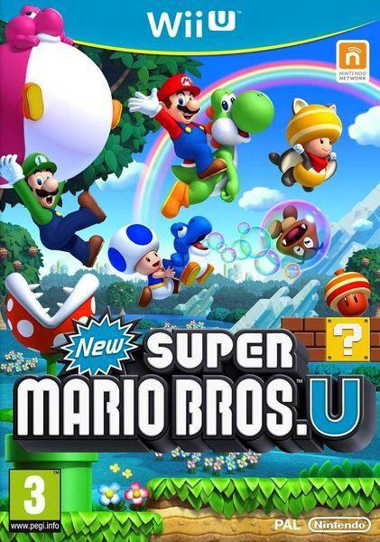 New Super Mario Bros U - WIIU