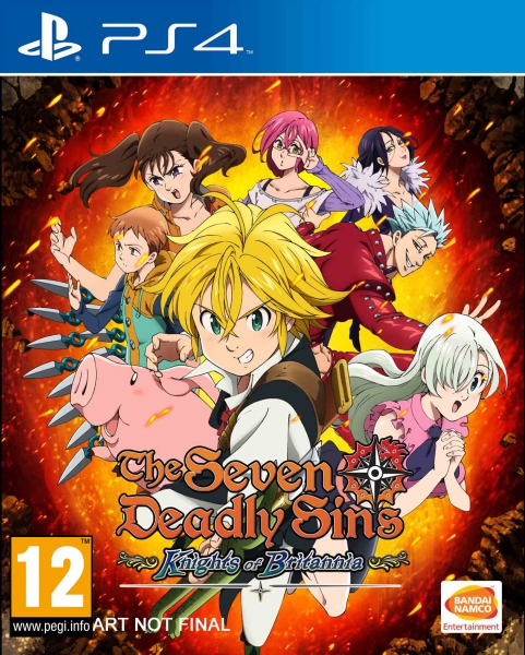 The Seven Deadly Sins - Knights of Britannia - PS4