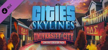 Cities: Skylines - Content Creator Pack: University City - Mac