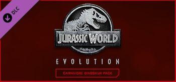 Jurassic World Evolution: Carnivore Dinosaur Pack - PC