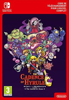Cadence of Hyrule - Crypt of the NecroDancer Featuring The Legend of Zelda - SWITCH