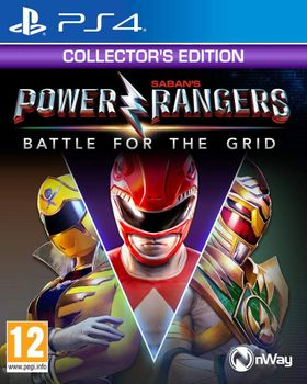 Power Rangers : Battle for the Grid - PS4