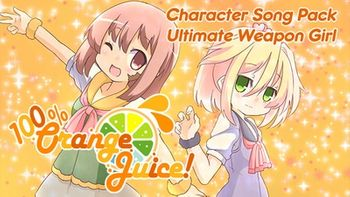 100 Orange Juice Character Song Pack Ultimate Weapon Girl - PC