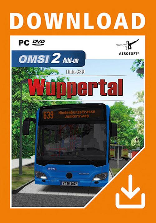 OMSI 2 Add On Wuppertal Buslinie 639 - PC