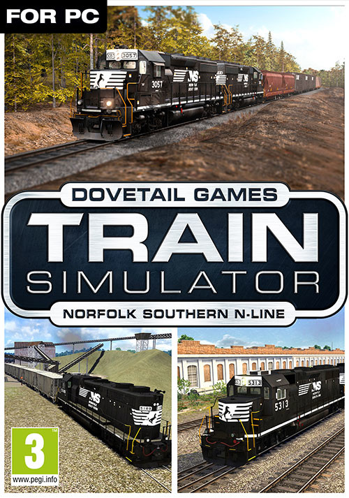 Train Simulator Norfolk Southern N Line Route Add On - PC
