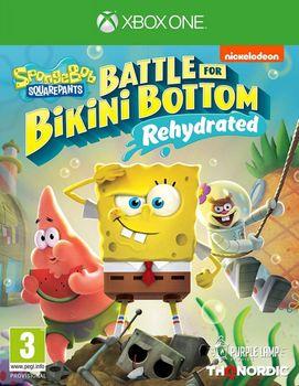 SpongeBob (Bob l'Éponge) SquarePants Battle for Bikini Bottom Rehydrated - XBOX ONE