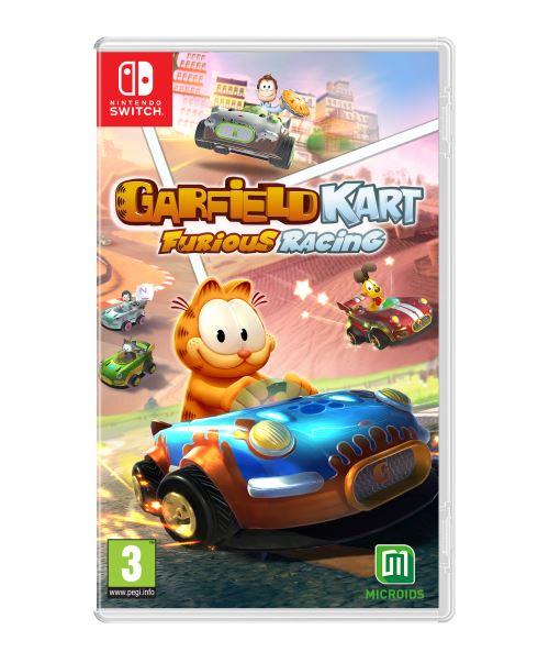 Garfield Kart Furious Racing ! - SWITCH