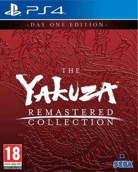 The Yakuza Remastered Collection - PS4