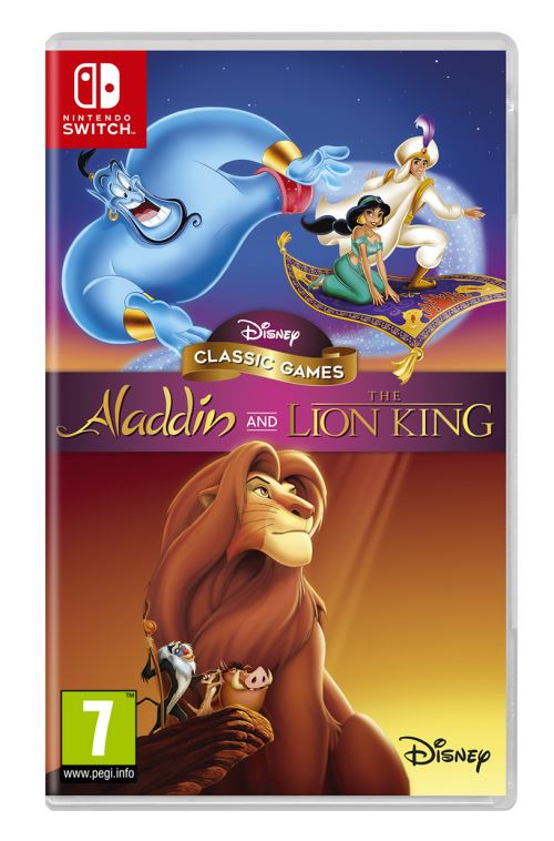 Disney Classic Games : Aladdin and The Lion King - SWITCH