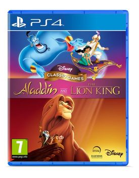 Disney Classic Games : Aladdin and The Lion King - PS4