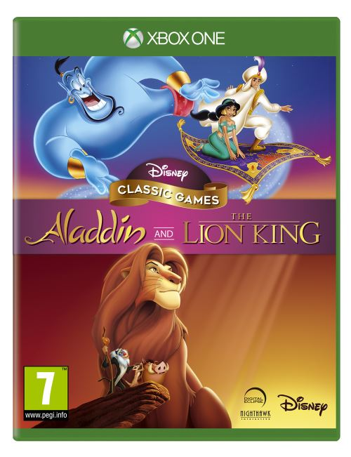Disney Classic Games : Aladdin and The Lion King - XBOX ONE
